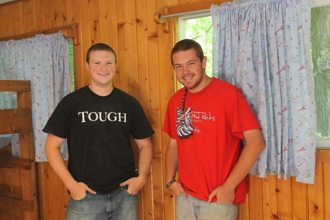 Our awesome Maintenance Guys, Sam and Reed!